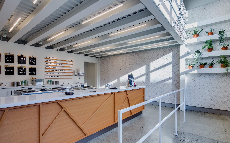 JDG Commercial Interior Design Project - Earnest Ice Cream