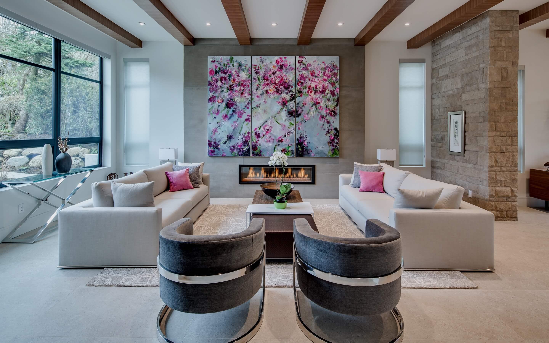JDG Residential Interior Design Project - Kerrisdale Home