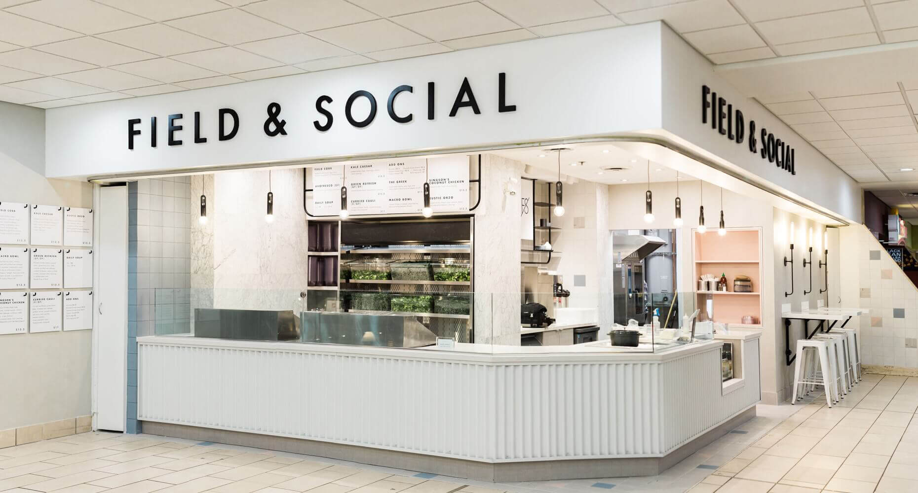 JDG Commercial Interior Design Project - Field & Social Royal Centre: