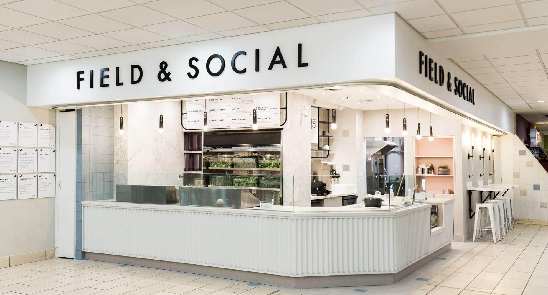 JDG Commercial Interior Design Project - Field & Social Royal Centre: