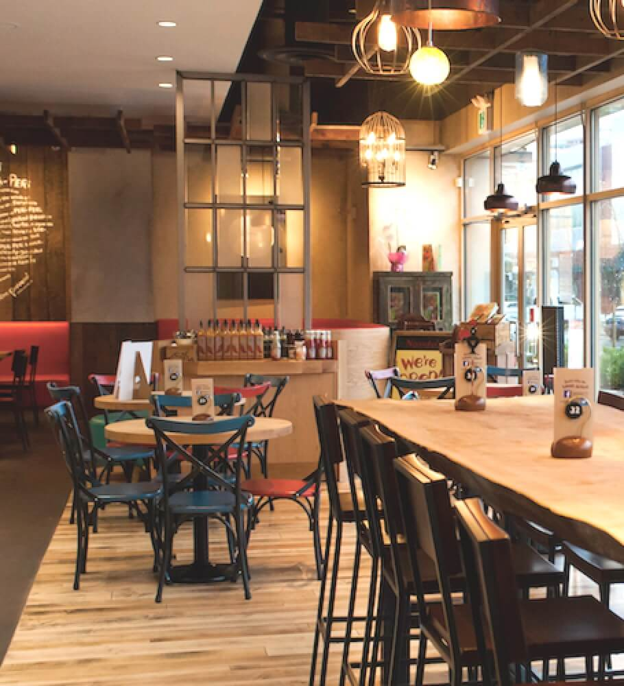 JDG Interior Restaurant Design Project - Nando's Park Royal