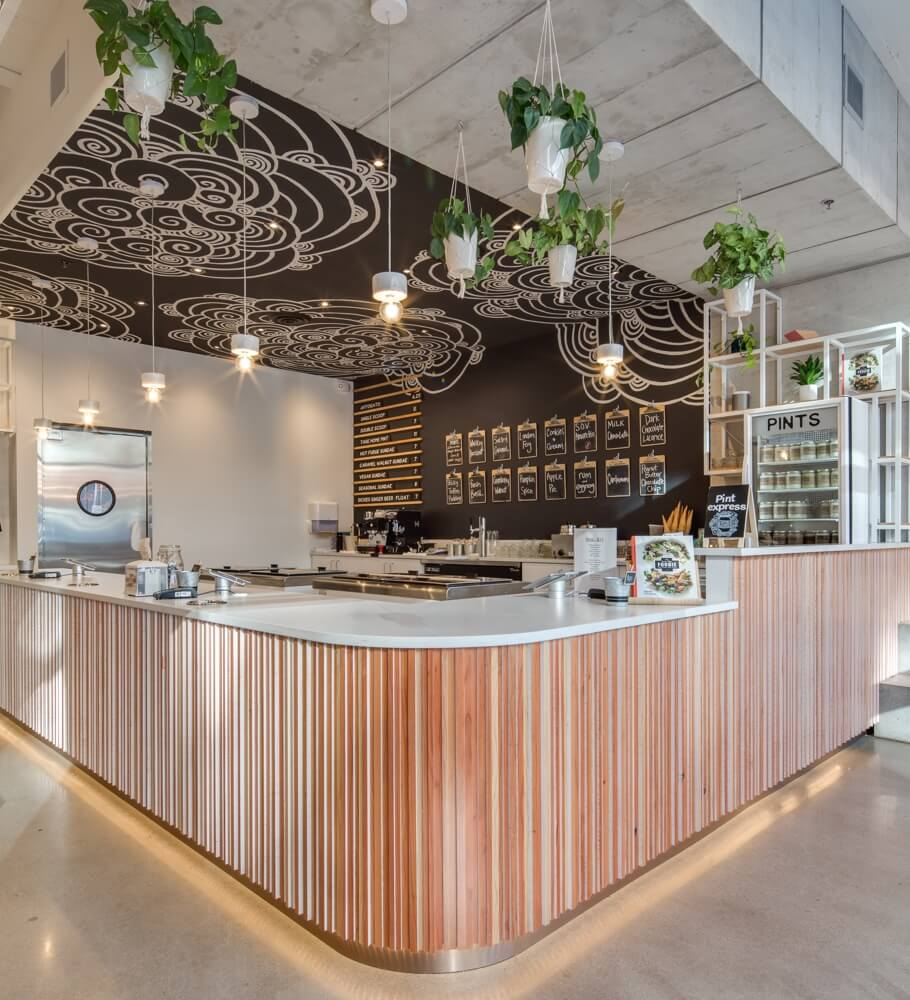 JDG Retail Interior Design Project - Earnest Ice Cream North Vancouver